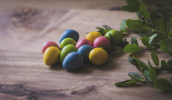 Photograph - Easter Eggs 14 by Andrea Anderegg