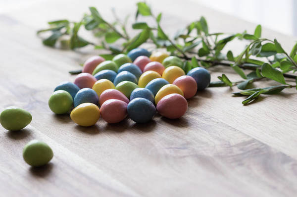 Photograph - Easter Eggs 15 by Andrea Anderegg