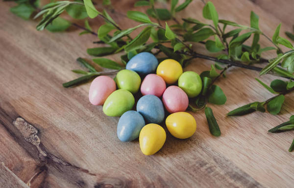 Photograph - Easter Eggs 18 by Andrea Anderegg