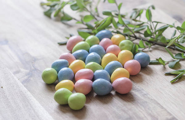 Photograph - Easter Eggs 19 by Andrea Anderegg