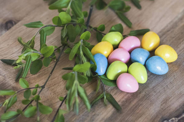 Photograph -  Easter Eggs 20 by Andrea Anderegg