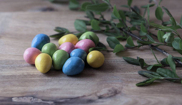 Photograph - Easter Eggs 21 by Andrea Anderegg