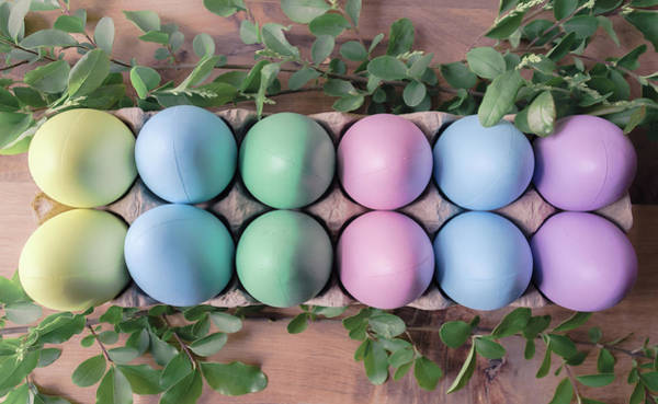 Photograph - Easter Eggs 22 by Andrea Anderegg