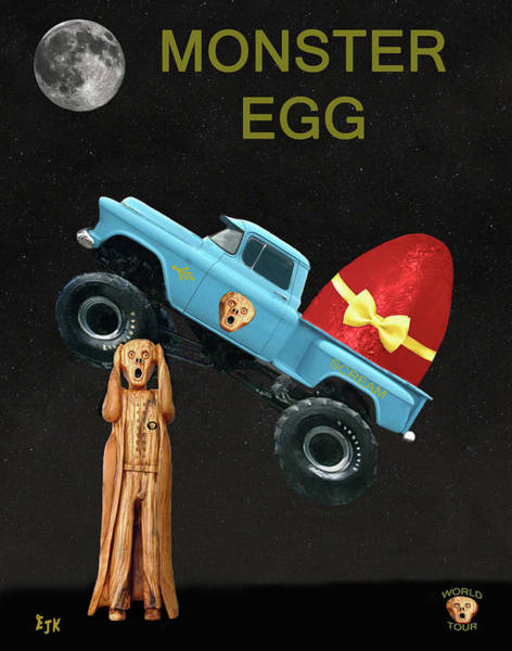 Mixed Media - Easter Eggs by Eric Kempson