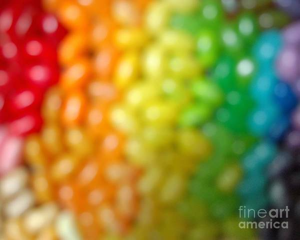 Jelly Belly Photograph - United States Rainbow Love Is Love by MingTa Li