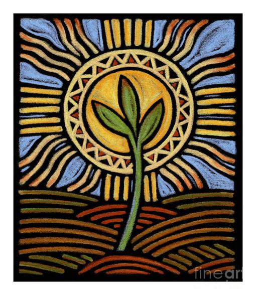 Painting - Easter Seedling - Jlsee by Julie Lonneman