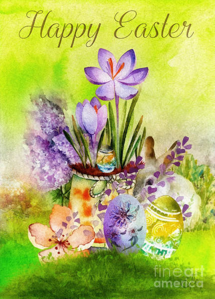 Alleluja Painting - Easter Time by Mo T