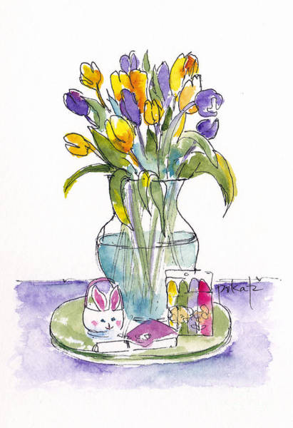 Painting - Easter Treats by Pat Katz