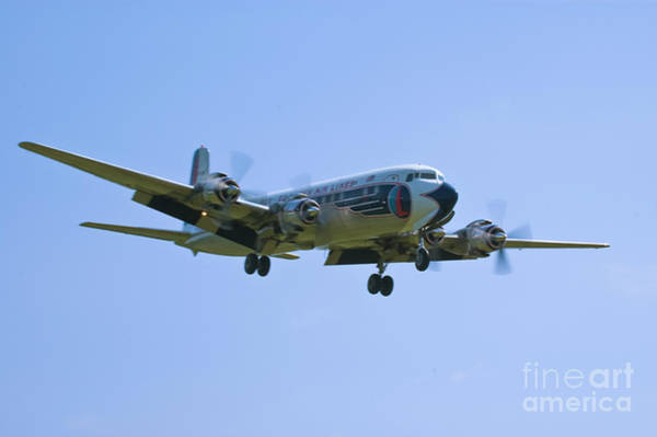 Wall Art - Photograph - Eastern Airlines Dc-6 by Tim Mulina