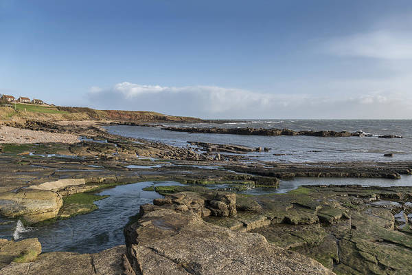Photograph - Eastern Coastline At Craig by Jeremy Lavender Photography