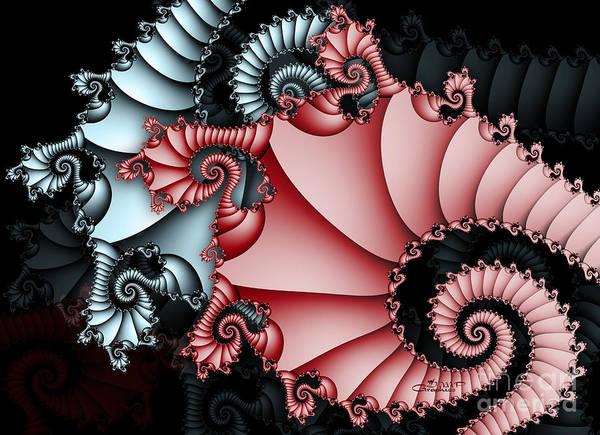 Digital Art - Eastern Dragon by Jutta Maria Pusl