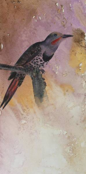Painting - Eastern Flicker by Ruth Kamenev