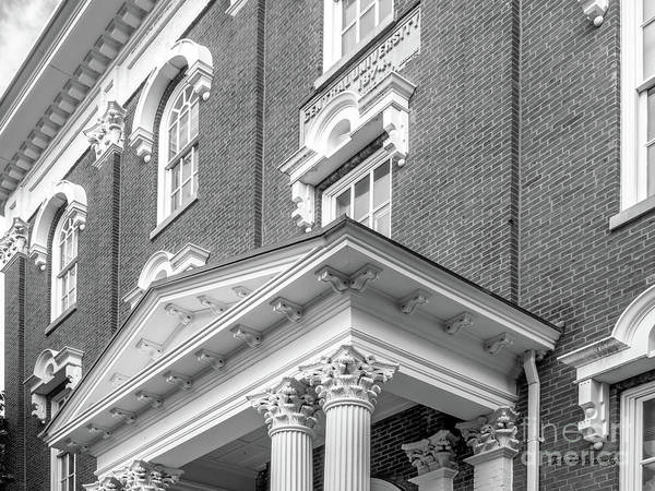 Photograph - Eastern Kentucky University Crabbe Library Detail by University Icons