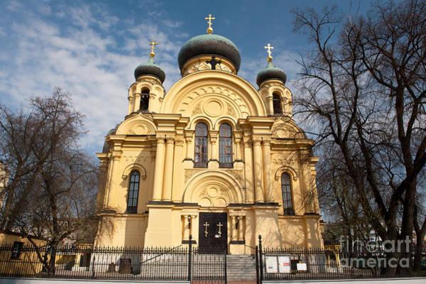 Wall Art - Photograph - Eastern Orthodox Church In Warsaw by Arletta Cwalina