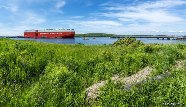 Halifax Nova Scotia Digital Art - Eastern Passage by Ken Morris
