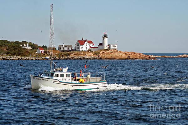 Wall Art - Photograph - Eastern Point Light Gloucester Massachusetts by Steve  Gass