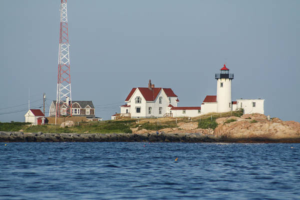 Photograph - Eastern Point Lighthouse 2 by Brian MacLean