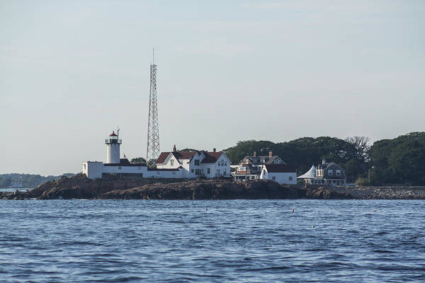 Photograph - Eastern Point Lighthouse by Brian MacLean