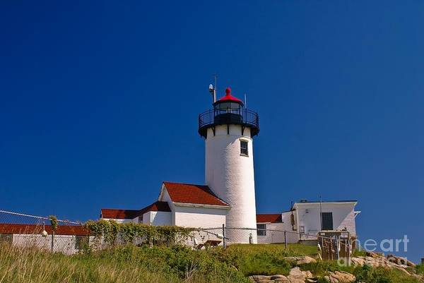Photograph - Eastern Point Lighthouse. Gloucester, Ma. by New England Photography
