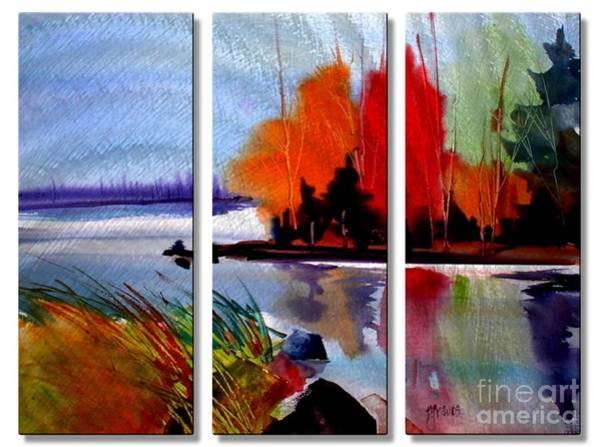 Mixed Media - Eastern Shore by Dt