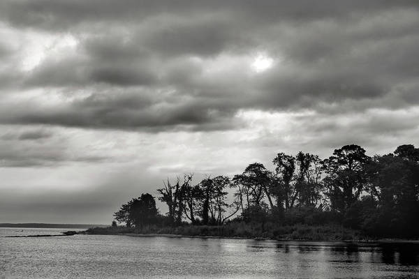 Photograph - Eastern Shore Sunrise In Black And White by Don Johnson