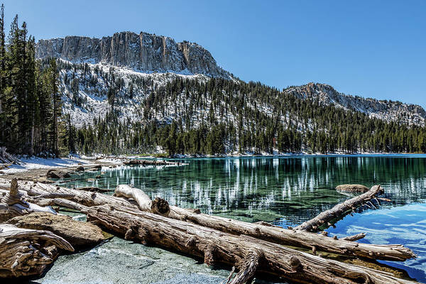 Turqoise Photograph - Eastern Sierra Mcleod Lake by Kelley King