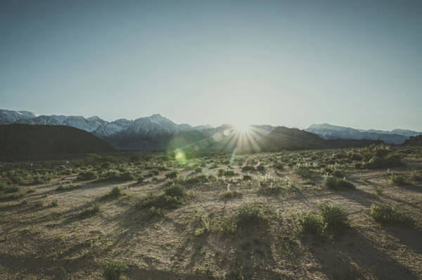 Photograph - Eastern Sierra Sunset by Margaret Pitcher
