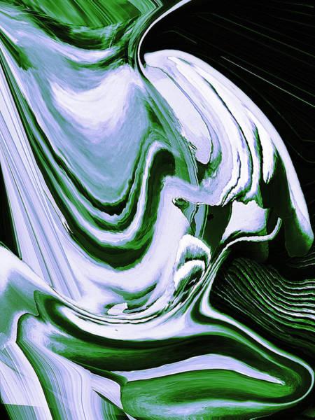 Wall Art - Digital Art - Easy Being Green by Gina Callaghan