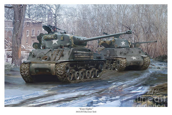 Sherman Tank Art | Fine Art America