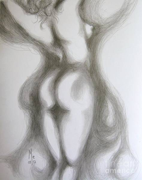 Drawing - Easy Stretch by Marat Essex