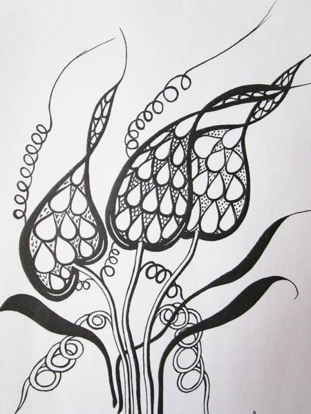 Drawing - Easy To Understand by Rosita Larsson