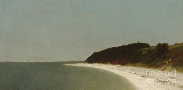 Wall Art - Painting - Eaton's Neck, Long Island, 1872  by John Frederick Kensett