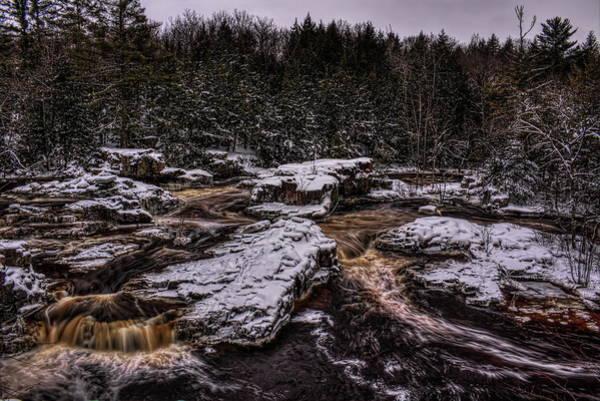 Photograph - Eau Claire Dells Park Snow by Dale Kauzlaric