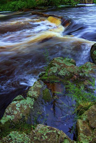 Photograph - Eau Claire Dells Rock Reflection by Dale Kauzlaric