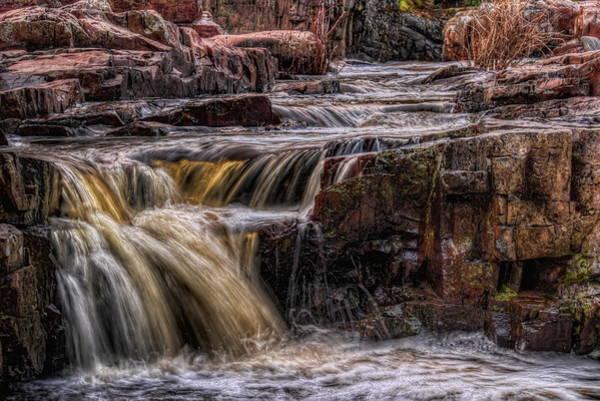 Photograph - Eau Claire Dells Spring Falls  by Dale Kauzlaric
