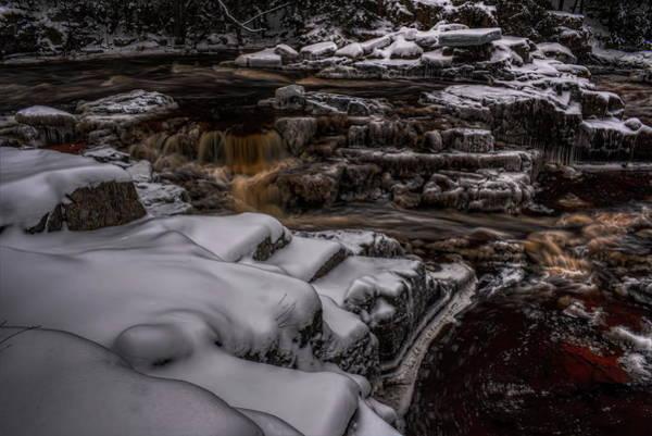 Photograph - Eau Claire Dells Winter Colors by Dale Kauzlaric