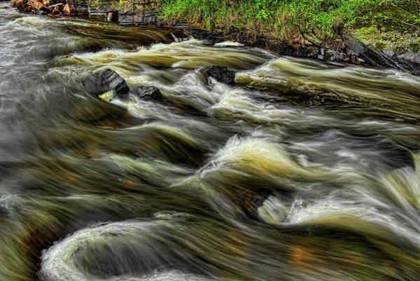 Photograph - Eau Claire River Laminar Flow by Dale Kauzlaric