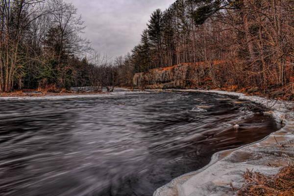 Photograph - Eau Claire River Leaving The Park by Dale Kauzlaric