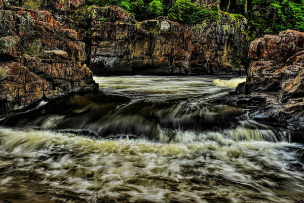 Photograph - Eau Claire River Over The Edge by Dale Kauzlaric
