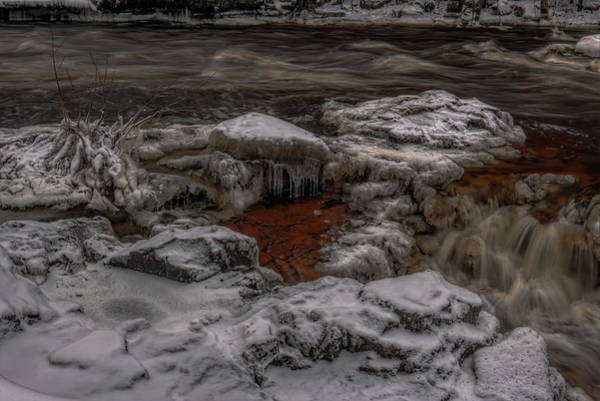 Photograph - Eau Claire River Past The Falls by Dale Kauzlaric