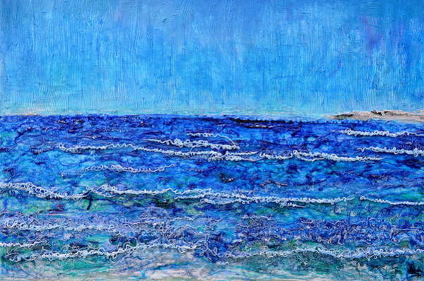 Painting - Ebbing Tide by Regina Valluzzi