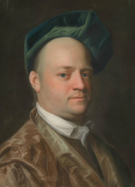 Pastel - Ebenezer Storer II by John Singleton Copley