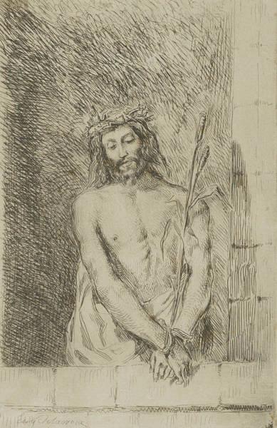 Relief - Ecce Homo, 1833 by Eugene Delacroix
