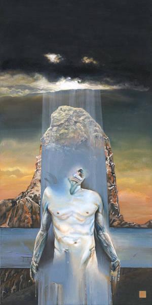 Pontius Pilate Wall Art - Painting - Ecce Homo - Jesus Christ - Illustration To The Book Of  Nietzsche - Daniel Yakubovich by Daniel Yakubovich
