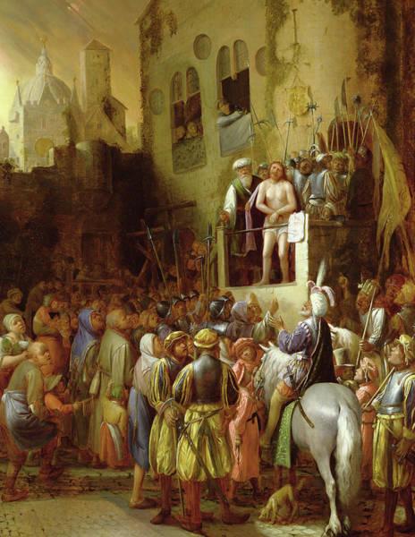 Homo Painting - Ecce Homo by Joos van Craesbeeck