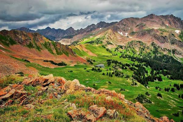 Photograph - Eccles Pass, Summit County, Colorado by Flying Z Photography by Zayne Diamond