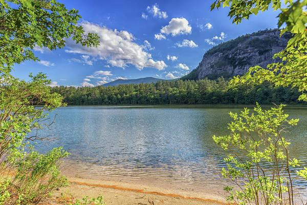 Photograph - Echo Lake Conway New Hampshire 6 by Brian MacLean