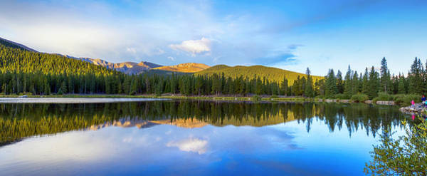 Photograph - Echo Lake Dawn by Lynn Palmer