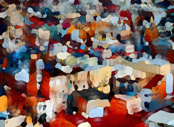 Digital Art - Echoes Of Civilization  by Shelli Fitzpatrick
