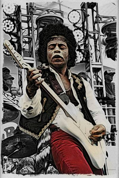 Photograph - Echoes Of Jimi by Alice Gipson